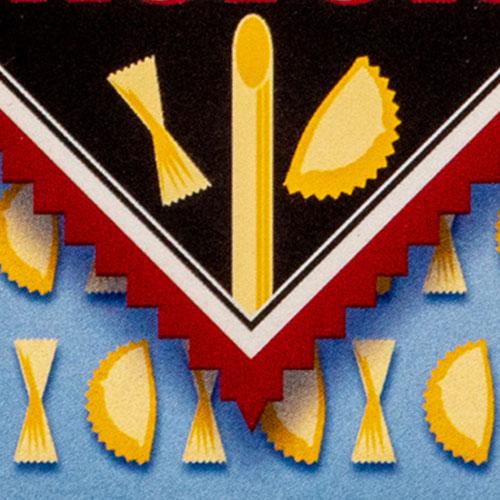 Logo für einen Pasta-Laden