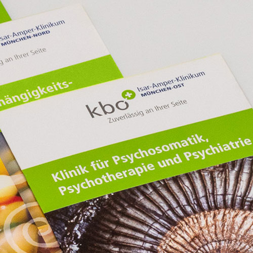 Faltblätter für das kbo-Isar-Amper-Klinikum