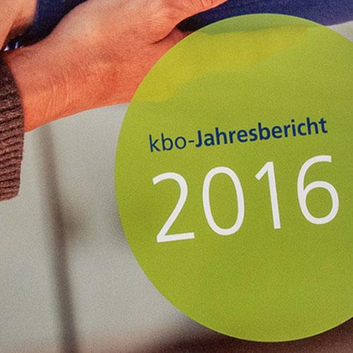 Jahresbericht 2016 für kbo
