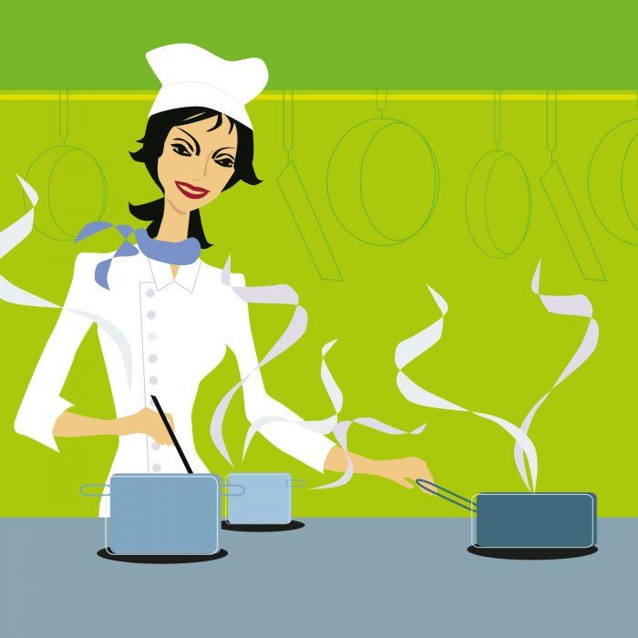 Einladung Clever Kochen