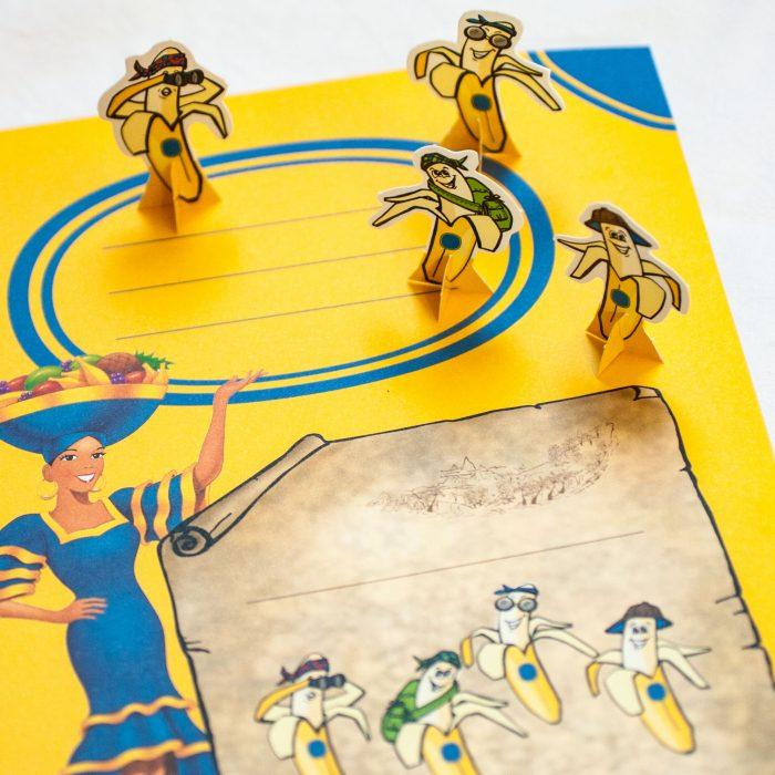 Chiquita Spiel – Konzeption, Illustration & Umsetzung
