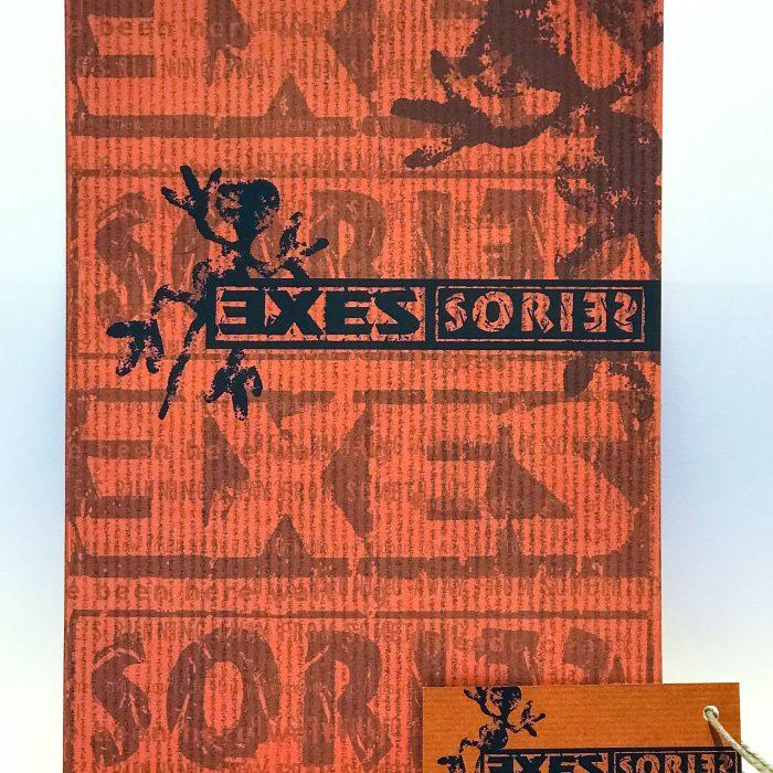 Logo und Produktverpackungen für Accessoire-Linie von EXES