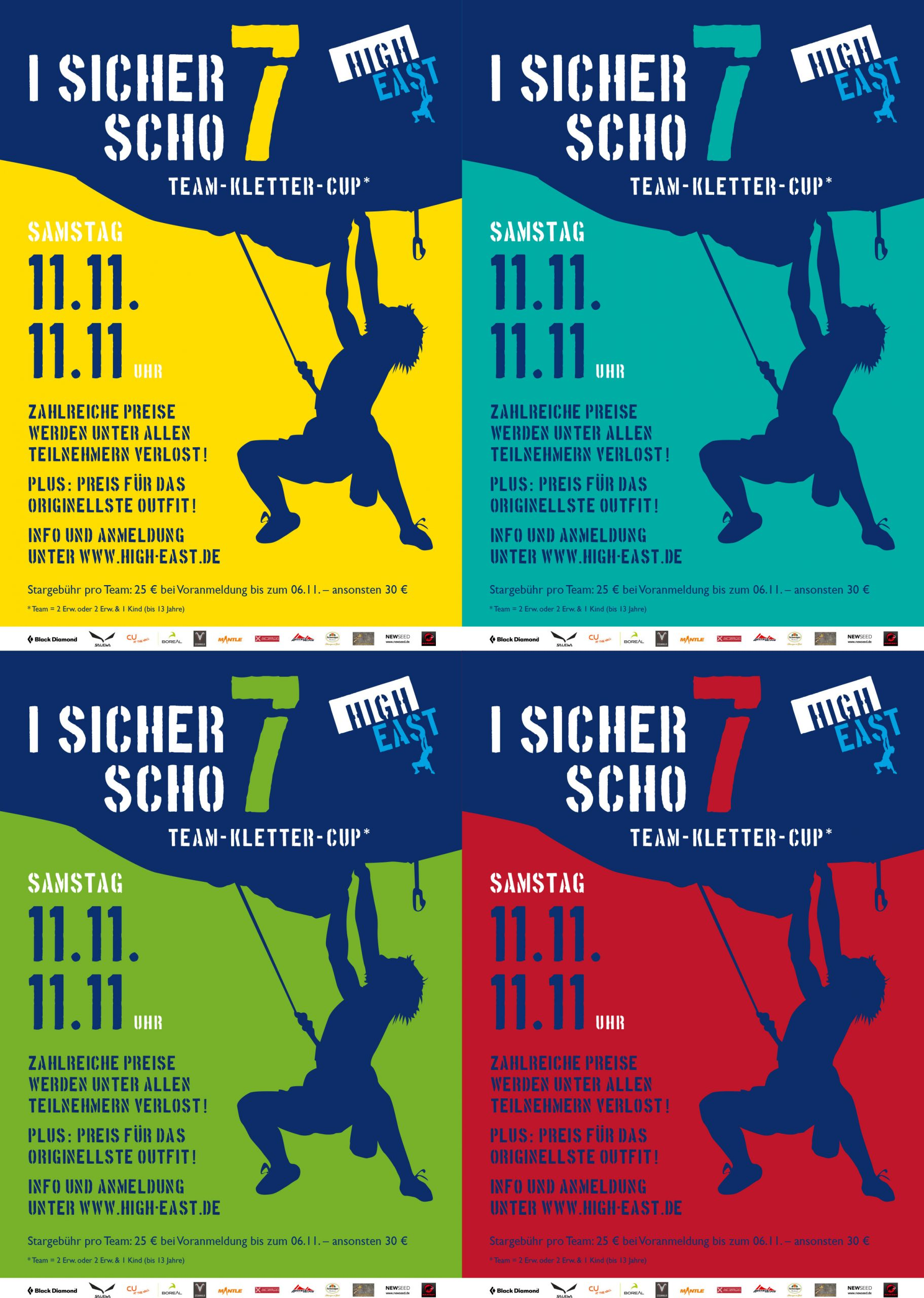 Poster High-East – I sicher scho 7